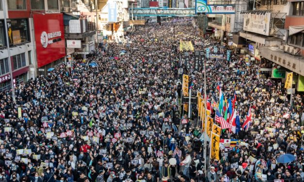 Hong Kong Marks 6-Months of Protest with Massive Rally