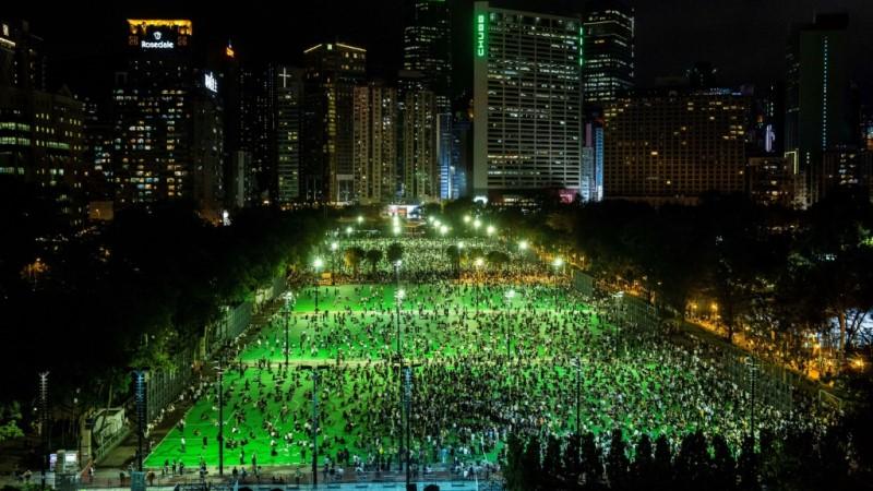 2020 Tiananmen Vigil