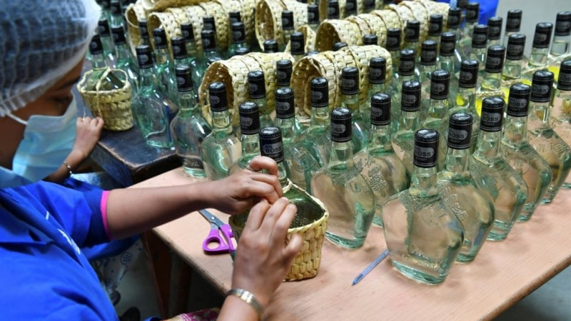 500-year Old Indian Liquor