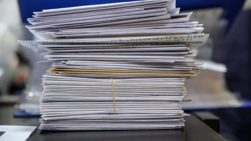 5,000 Letters from the Public