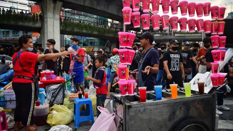 A Blessing for Thai Vendors