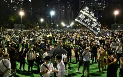Hong Kong Seethes One Year On, but Protesters on the Back Foot