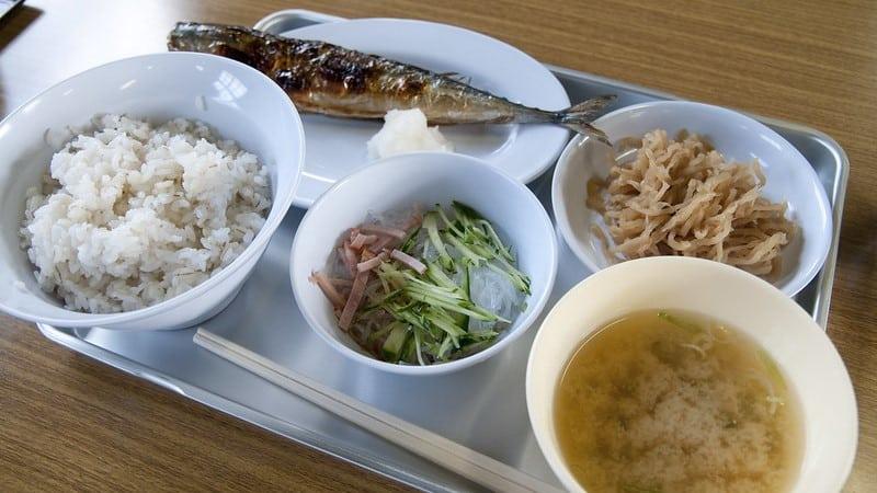 Abashiri Prison Meal ©Yuichi Sakuraba