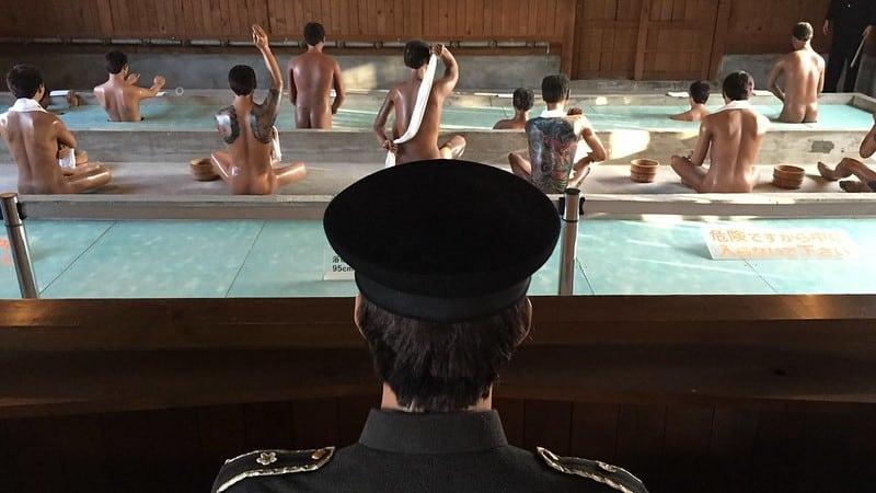 Abashiri Prison Museum Bath House ©Bryan