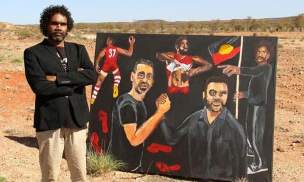Aboriginal Artist Wins Prestigious Australian Prize for First Time