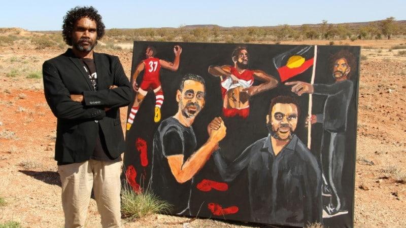 Aboriginal Artist Vincent Namatjira