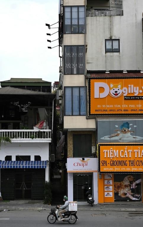 Adjoining Houses in Modern Day Hanoi