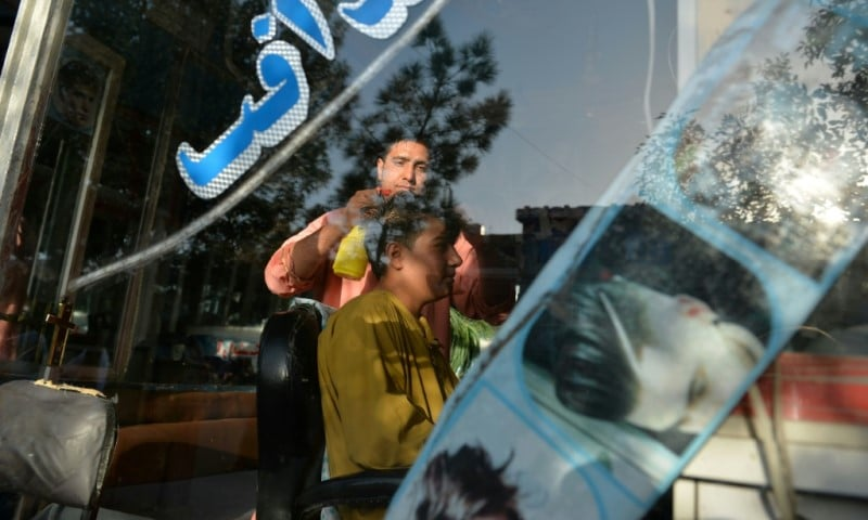 Afghan Barber