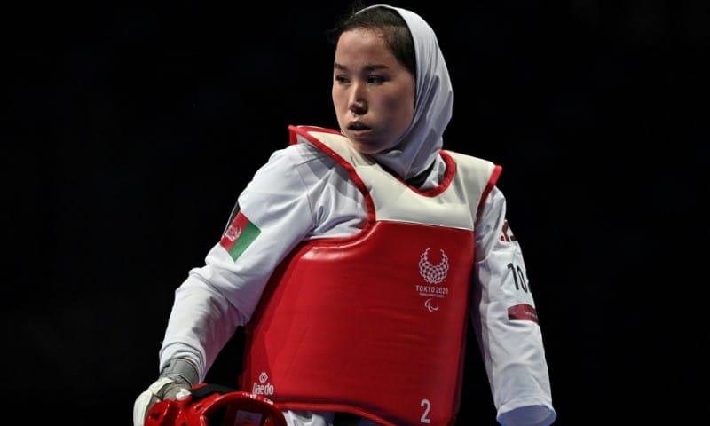 Afghan Paralympian Zakia Khudadadi