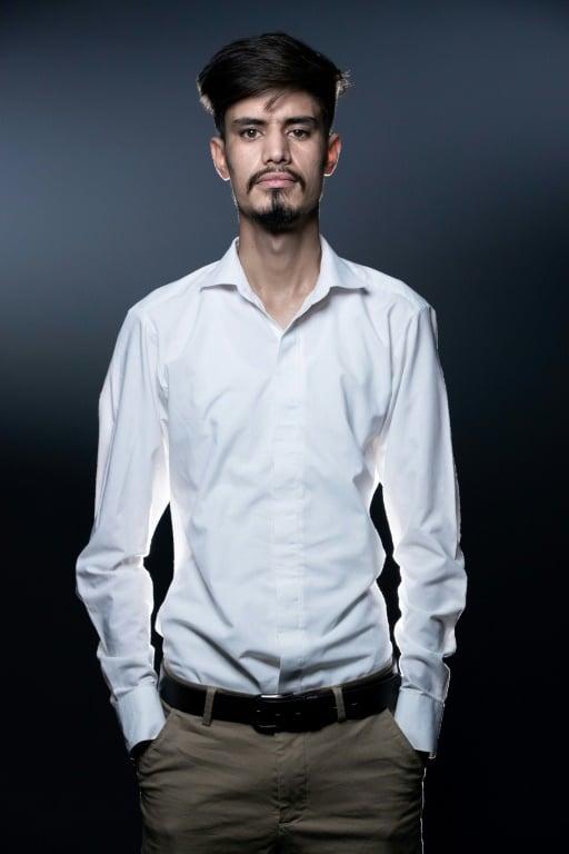Afghan Poet Ramin Mazhar