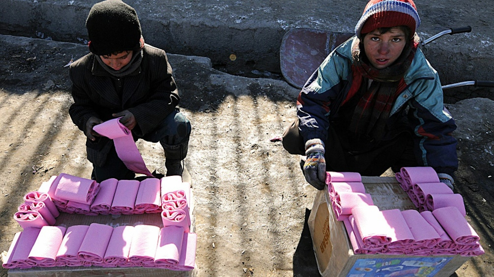 Afghan Toilet Paper Firm.afp