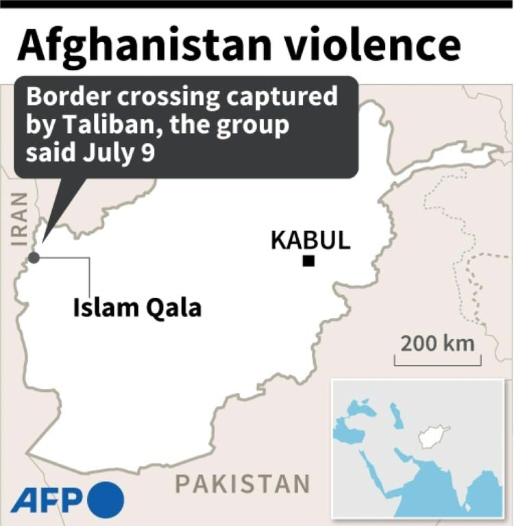 Afghanistan's Border Crossing with Iran