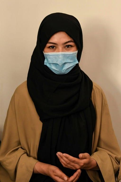 Afghanistan's National Taekwondo Team Member Zahra