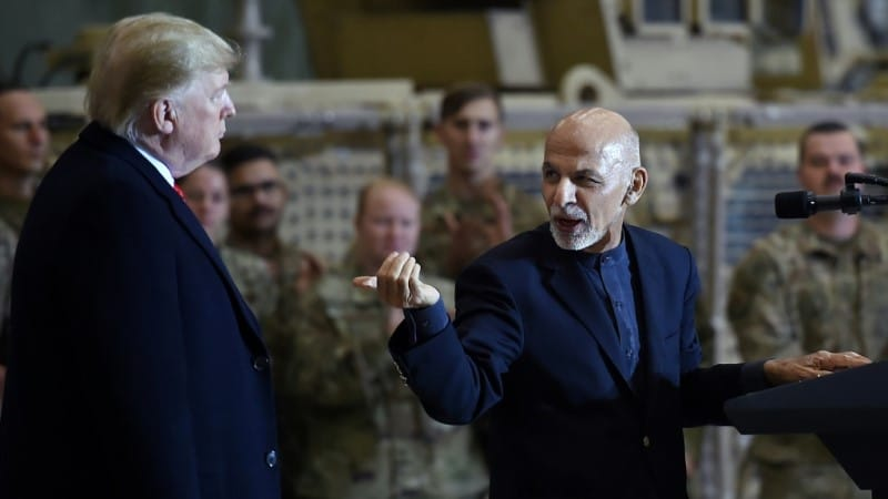 Afghan's President Ashraf Ghani