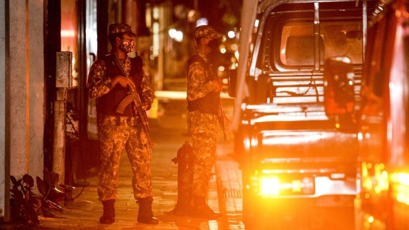 After a Bomb Blast in Maldives