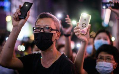 Hong Kongers Scrub Social Media History in Fear of Security Law