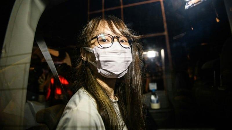 Agnes Chow of Hong Kong