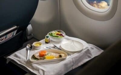Frequent Flyer Recreates Airplane Meals Because He Misses it so Much