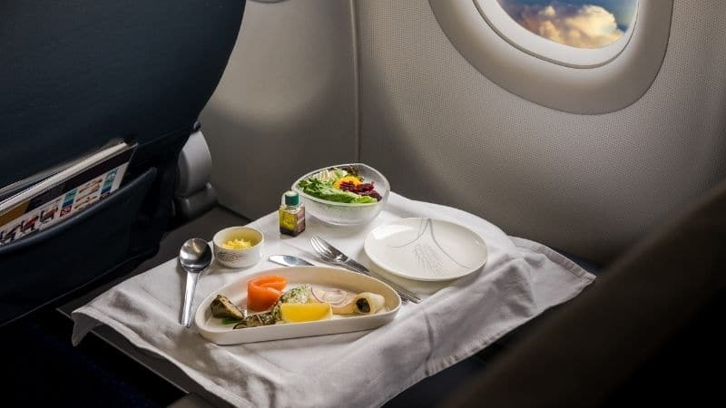 Airplane Meal - Banner