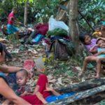 Toddler Survives Myanmar Airstrike that Killed Father