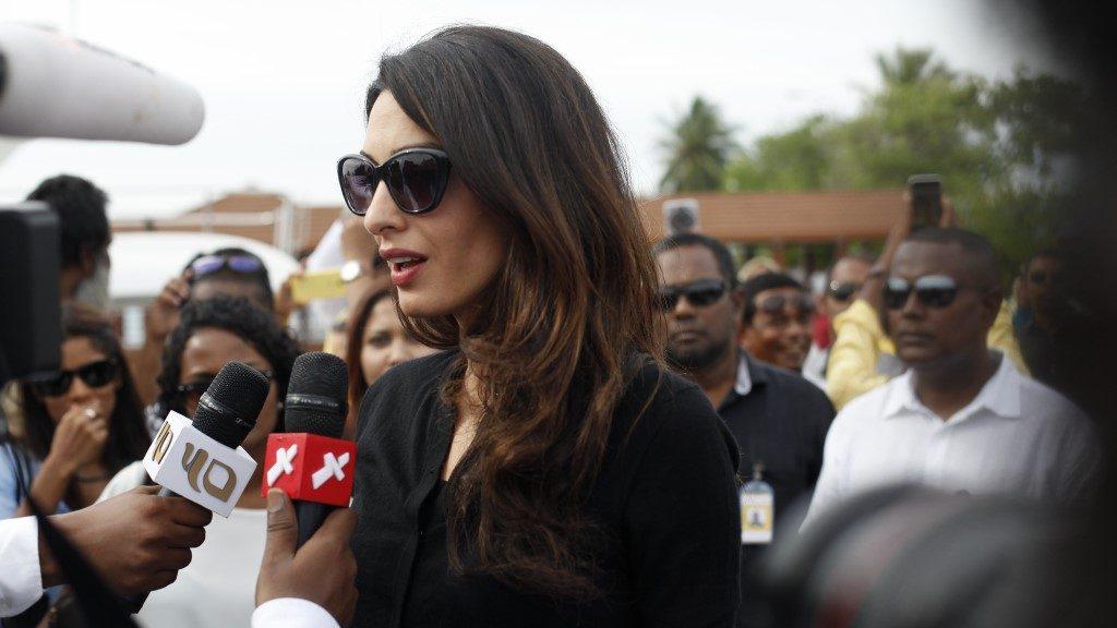 Amal Clooney - Dying Regime#FreePresidentNasheed