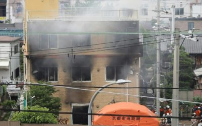 Japan Man Charged With Murder over Anime Studio Arson