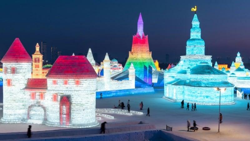 Annual Ice Festival in Harbin