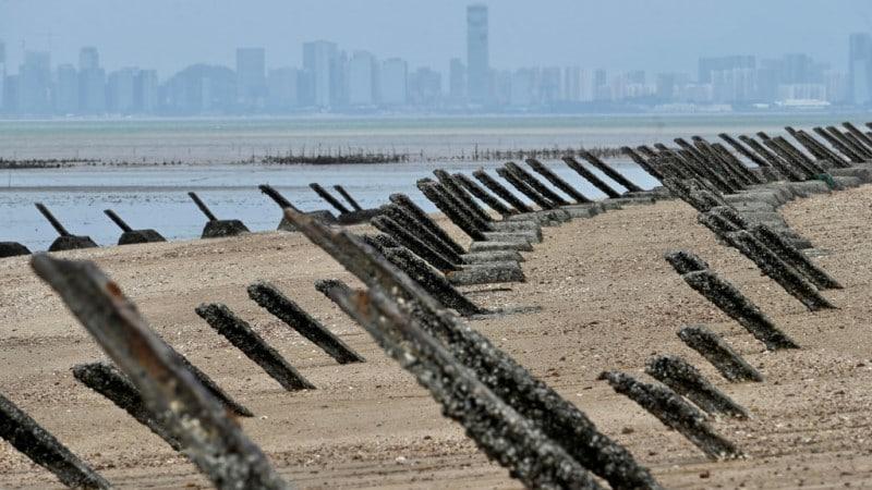 Anti-landing Spikes on Taiwan
