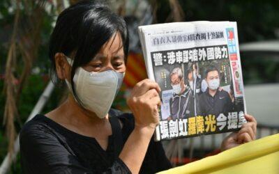 Hong Kong Pro-Democracy Media Executives Denied Bail under Security Law