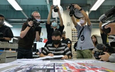 Tears and Cheers as Hong Kong's Apple Daily Prints Last Edition