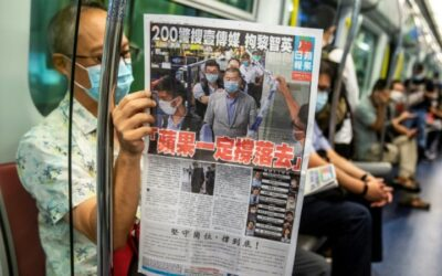Curtain Falls on Hong Kong Tabloid that Dared to Challenge China