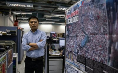 Future Sours for Hong Kong's Brazen Apple Daily Tabloid