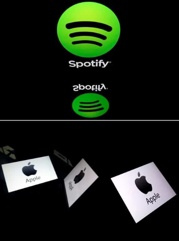 Apple and Spotify