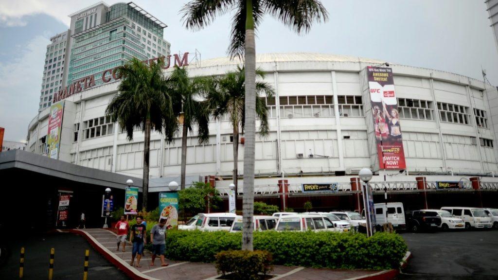 Araneta Colliseum Manila.afp