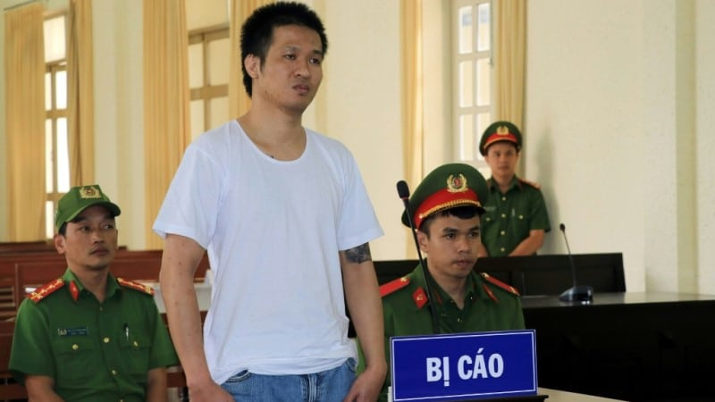 Arrested in Vietnam.afp