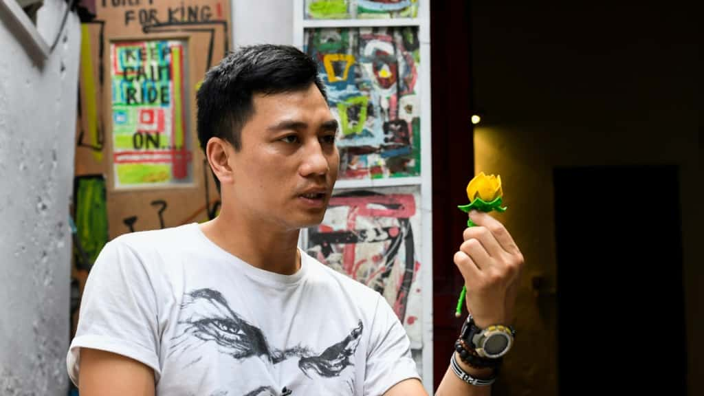 Artist Detained in Vietnam ©AFP