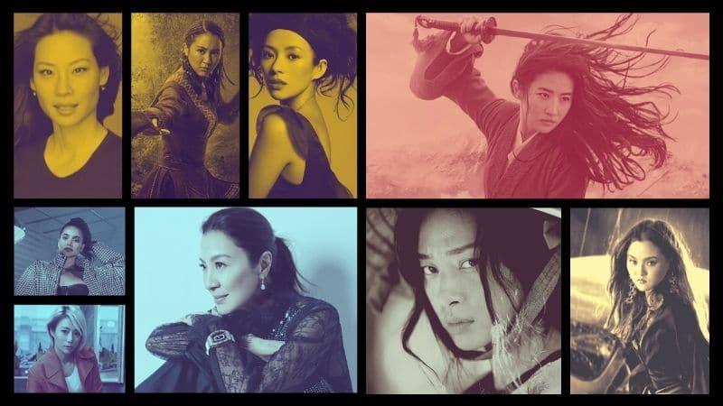 Asian Femaile Stars - Banner