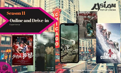 Asian Pop-Up Cinema Kicks off Season 11 with Streaming and Drive-In Experience