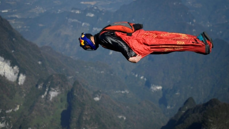 Asia's Top Wingsuit Athlete