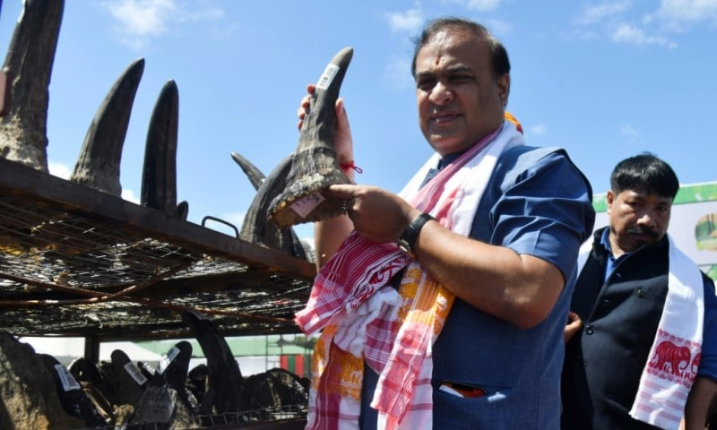 Assam's Chief Minister Himanta Biswa Sarma
