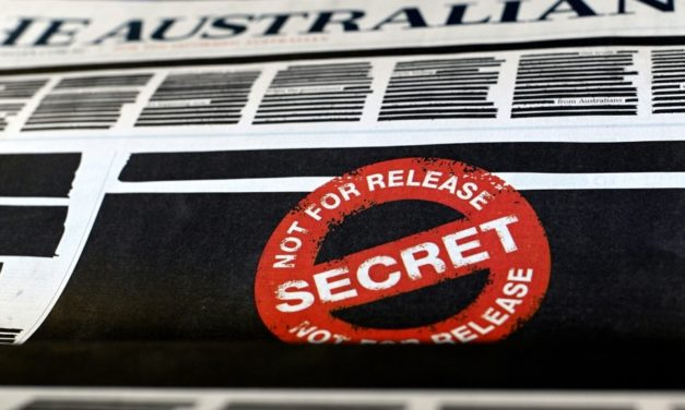 Australian Media Protests Against Government with Redacted Front Pages