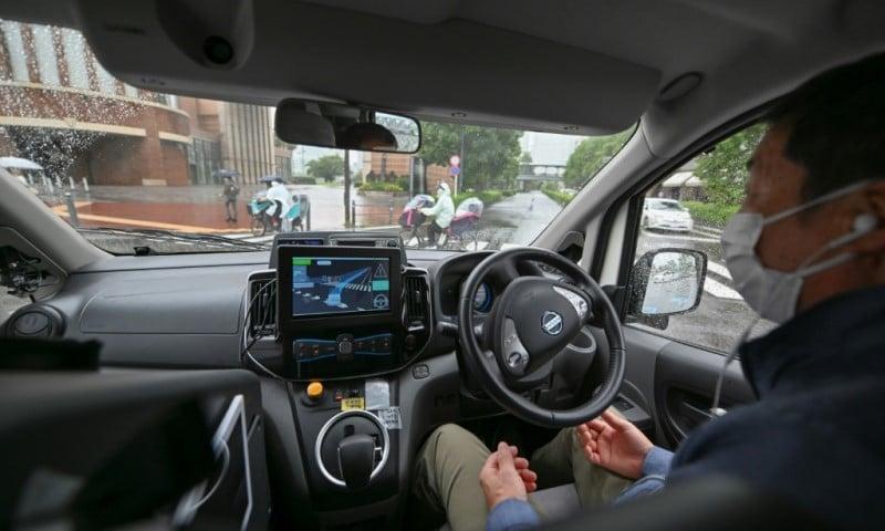 Autonomous Taxi in Japan