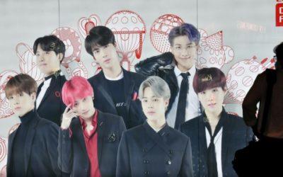 Shares in Managers of K-Pop's BTS Soar on Market Debut