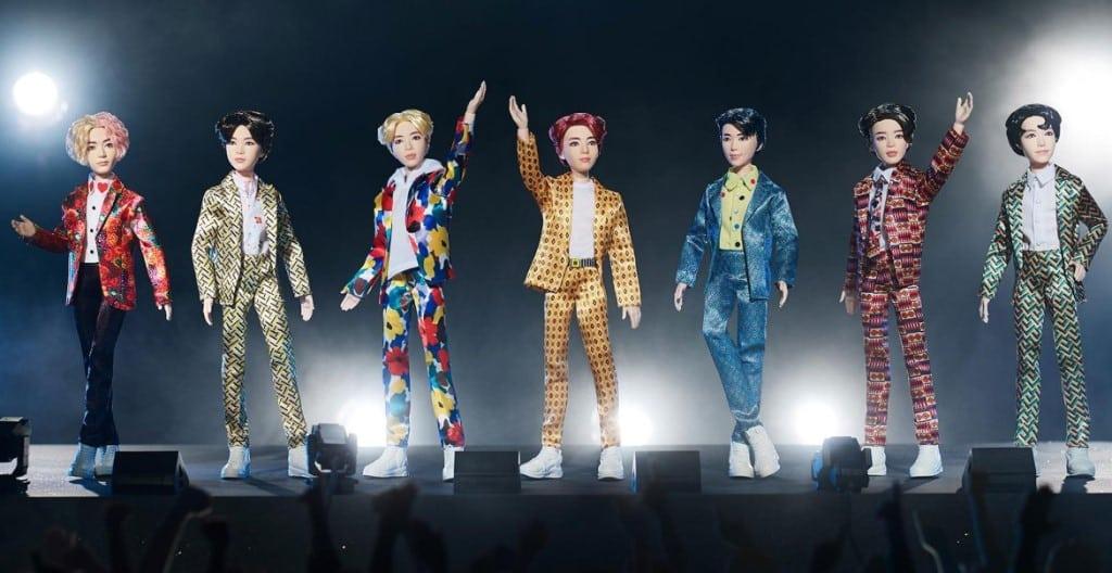 BTS Dolls ©Mattel