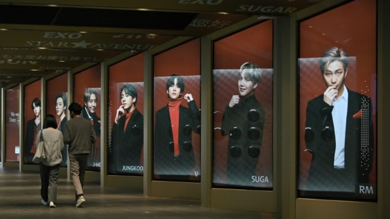 BTS Posters in Seoul