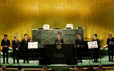 BTS Dance through UN to Promote Youth Solutions for Planet