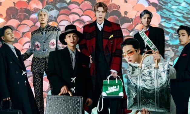 BTS Walks Louis Vuitton FW21 Show in Korea