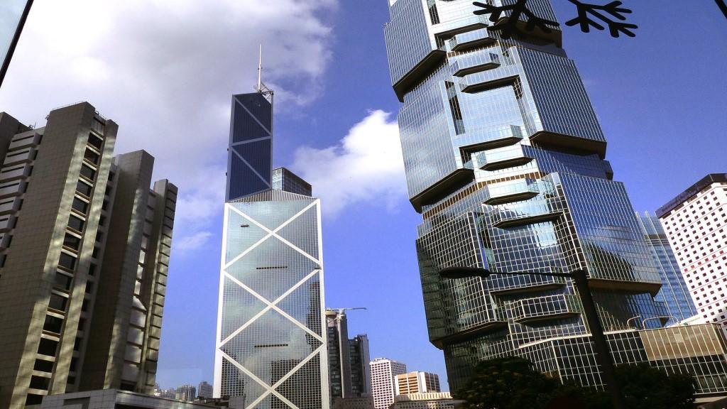Bank of China & Lippo Building - Hong Kong