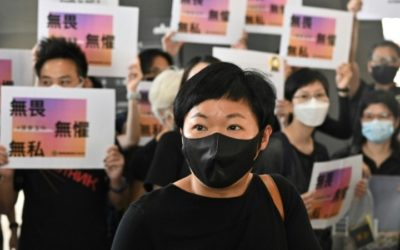 Convicted Hong Kong Journalist Wins Award for Investigation