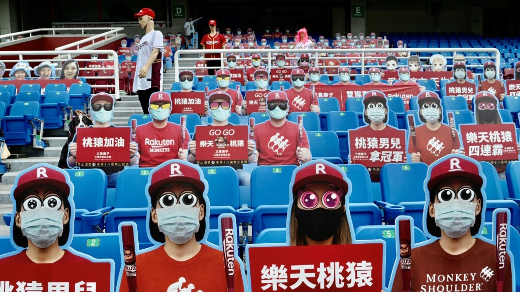 Baseball in Taiwan.afp